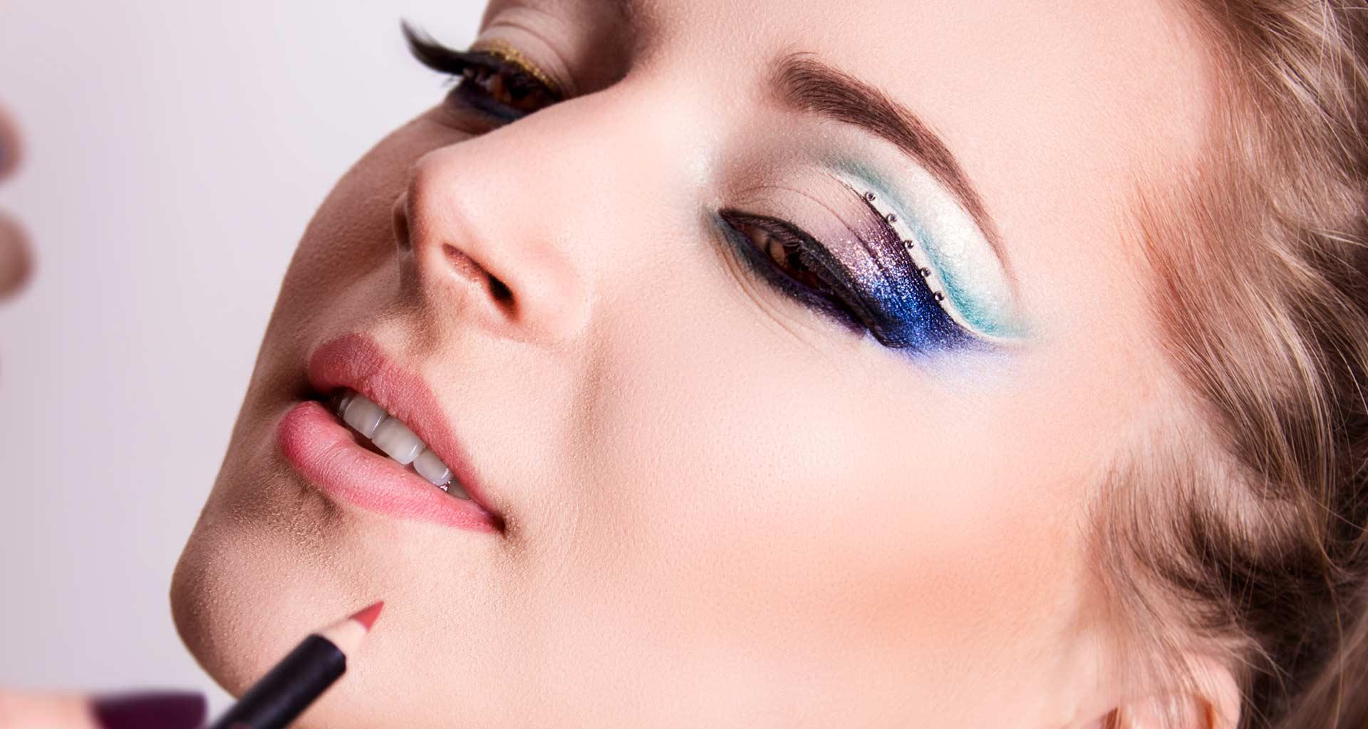 make-up shooting photo